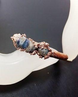 Inel din cupru si lapis lazuli