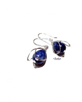 blue lapis earrings