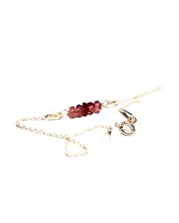 Pink Tourmaline Zodiac Bracelet Pink Tourmaline Bracelet Gemstone Zodiac Bracelet Birthstone Zodiac Bracelet Birthday Tourmaline Bracelet