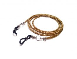 Golden Eyeglasses Chain Golden Eyeglasses Lanyard Golden Glasses Eyewear Golden Eyeglasses Holders Beaded Eyeglasses Chain Sunglasses Chain