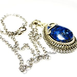 Royal Lapis Pendant